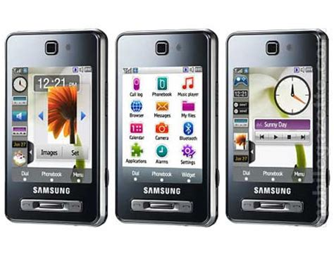 samsung f480 get touchy with the samsung sgh f480 touchwiz mobile phone techgadgets