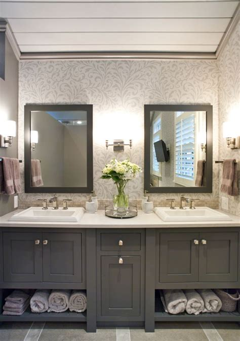 Built In Bathroom Furniture 25 Best Open Bathroom Vanity Ideas On