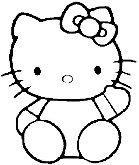 coloring pages free printable hello kitty hello kitty coloring pages team colors
