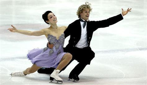meryl davis charlie white americas ice dancing ice dancers meryl davis and charlie white enjoying big