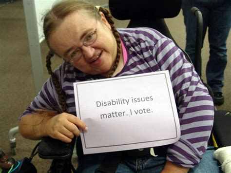 voters with disabilities still accessibility barriers
