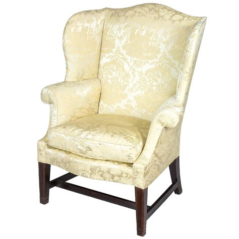 small wingback chair small hepplewhite inlaid mahogany wing chair philadelphia