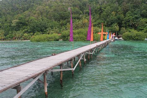 dive lodge raja at island hopping in raja at a paradise in