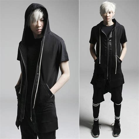 Jaket Hoodie Six Japan Black korean style hoodies fashion design black