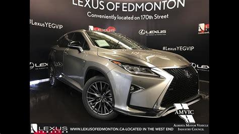 silver lexus 2017 2017 atomic silver lexus rx 450h awd hybrid f sport series