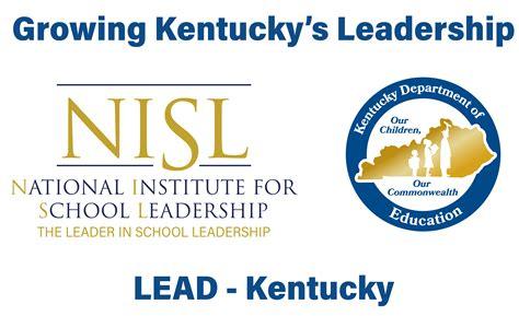national institute  school leadership nisl kentucky
