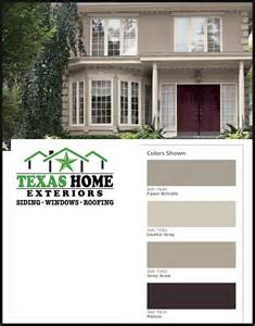 paint color combinations for brown roof house house design and decorating ideas