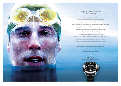 rolex print ads rolex deepsea sea dweller print ad a phoenix among humans