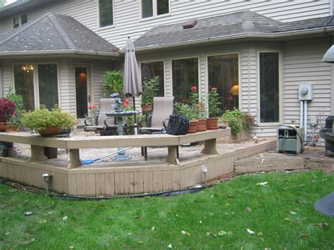 fort wayne homeowners   deck  patio