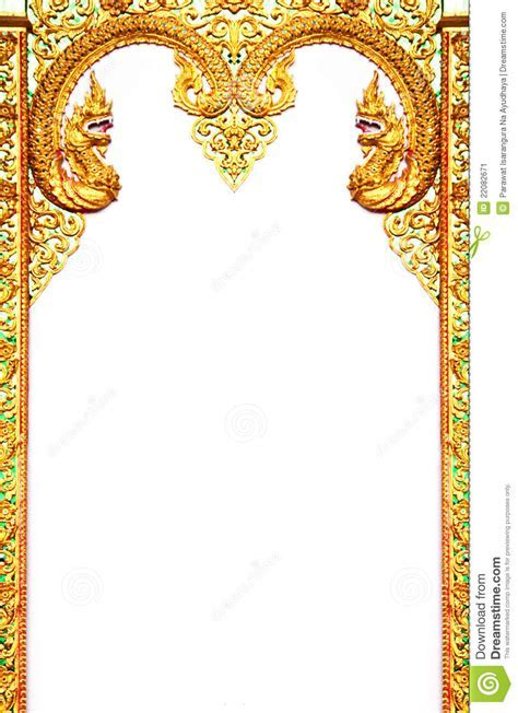 Wedding invitation template indian indian wedding invitation beautiful thai art frame stock image image 22082671 stopboris Choice Image