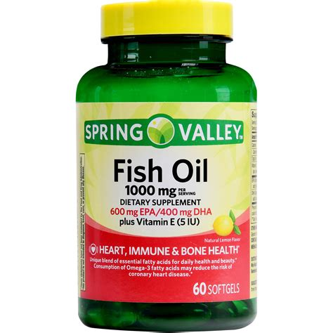 Healthy Care Fish 400softgel Australia valley fish 1000 mg 600 mg epa 400 mg dha plus