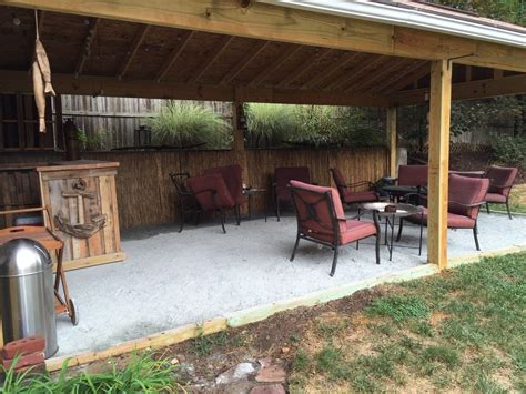 backyard tiki bar hometalk backyard tiki bar