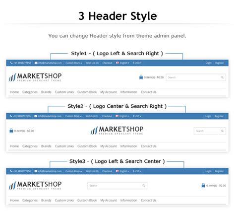 design header opencart marketshop multi purpose opencart theme by harnishdesign