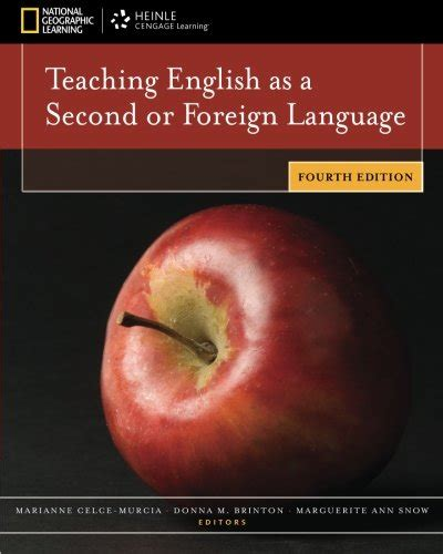 libro teach english as a libro teaching english as a second or foreign language di marianne celce murcia donna m