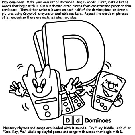 crayola coloring pages letters alphabet d coloring page crayola com