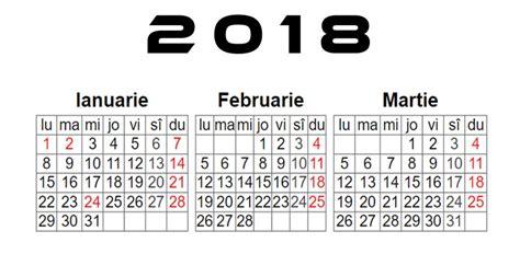 Calendar 2018 Ro Calendar 2018 Romanesc De Printat Pdf Png Softulescu