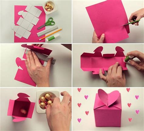 Handmade Gift Box Tutorial - gifts wrapping ideas and small