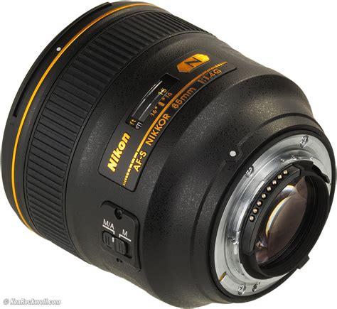 Nikon Af S 85mm F 1 4 G Lensa Kamera Black nikon 85mm f 1 4 g review