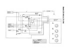 wiring diagram diagram parts list for model 13ap609g063 troybilt parts mower tractor