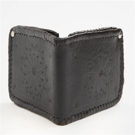 Handmade Western Leather Wallets - western handmade wallet four winds west