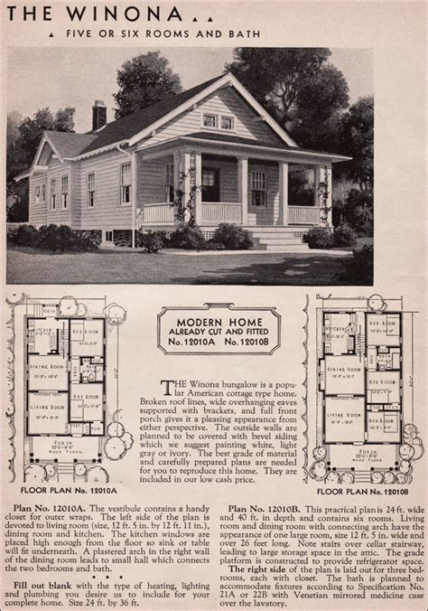 1936 winona kit home sears roebuck 20th century