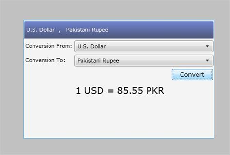 currency converter web service asim sajjad currency conversion using web service