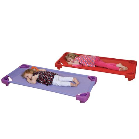 Red Powder Room - children s stackable cots profile education