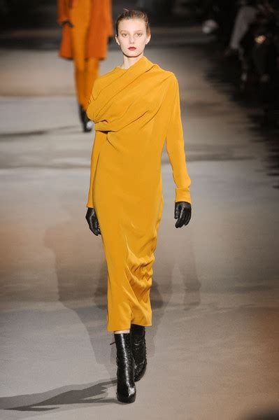 hot hues for fall 2012 haider ackermann s burnt hues the 20 hottest looks from