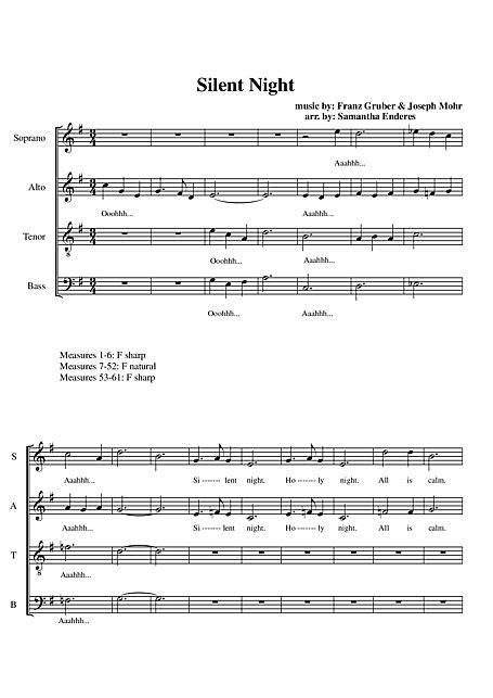 Noite Feliz (Stille Nacht, heilige Nacht) Coro
