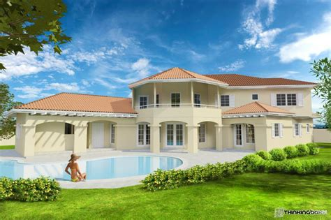 Luxury Estate Home Plans rupununi series r01 elaineville providence guyana