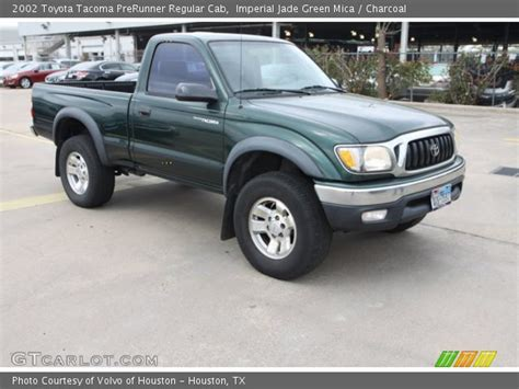 2002 Toyota Tacoma Prerunner Imperial Jade Green Mica 2002 Toyota Tacoma Prerunner