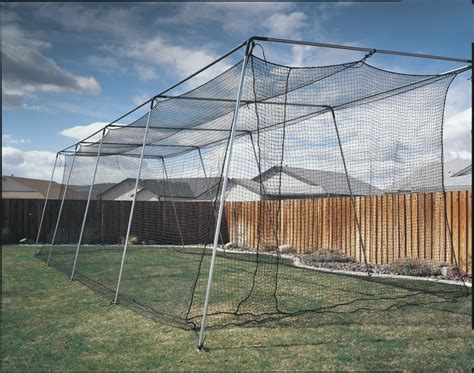 atec backyard batting cage instant baseball