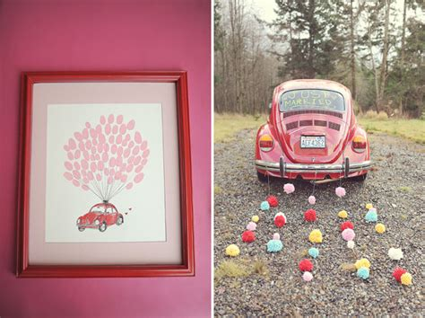 volkswagen valentines diy valentine s day wedding ideas