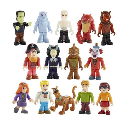 Kaos Scooby Doo 18 scooby doo character building micro figure series 1