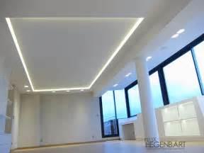 faux plafond en fermacell avec un cadre en polycarbonate