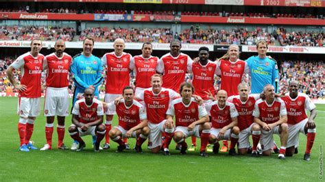 arsenal legends v milan glorie gallery news arsenal