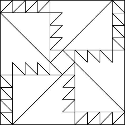 geometric pattern rotation geometric block pattern 19 clipart etc