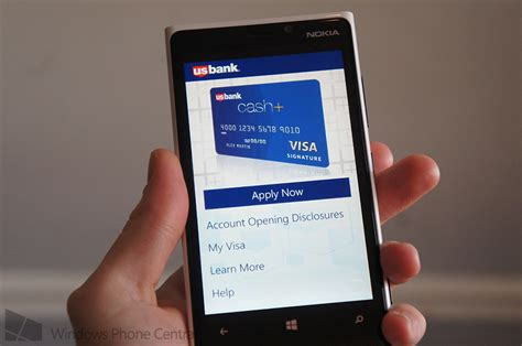 How To Use Visa Gift Card On App Store - us bank releases cash visa card app for windows phone windows central