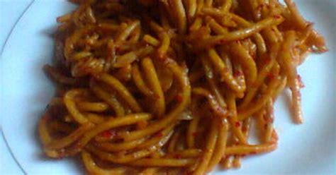 resep mie kuning basah goreng enak  sederhana cookpad