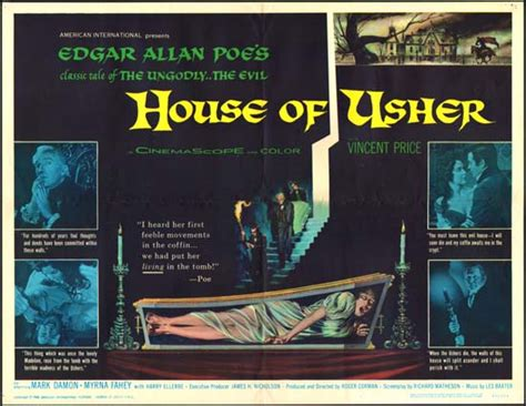 house of usher 1960 a trailer a day keeps the boogeyman away fall of the house of usher 1960 the