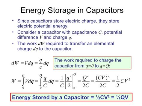 capacitor storage potential lesson 2 capacitors