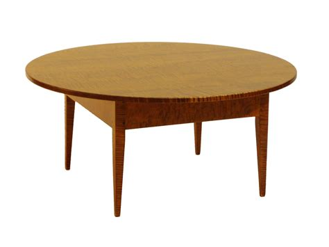 Handcrafted Dining Room Tables round coffee table