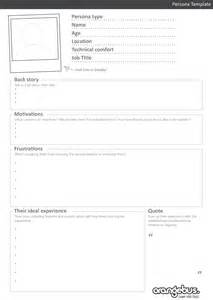 sales customer profile template understand your target market 3 steps to creating