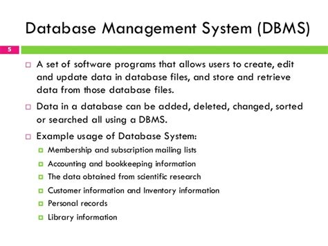 Database Management System Ppt For Mba by Database Management System By Navathe Ppt Free