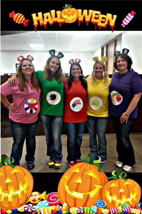 group halloween costumes diy carebear  large group