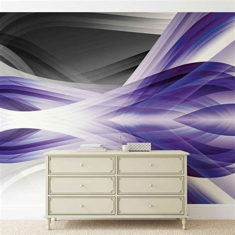 purple wall mural abstract light pattern purple wall paper mural buy at europosters