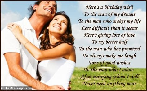 wishes for fiance birthday poems for fiance wishesmessages