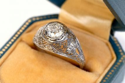 vintage engagement ring overview