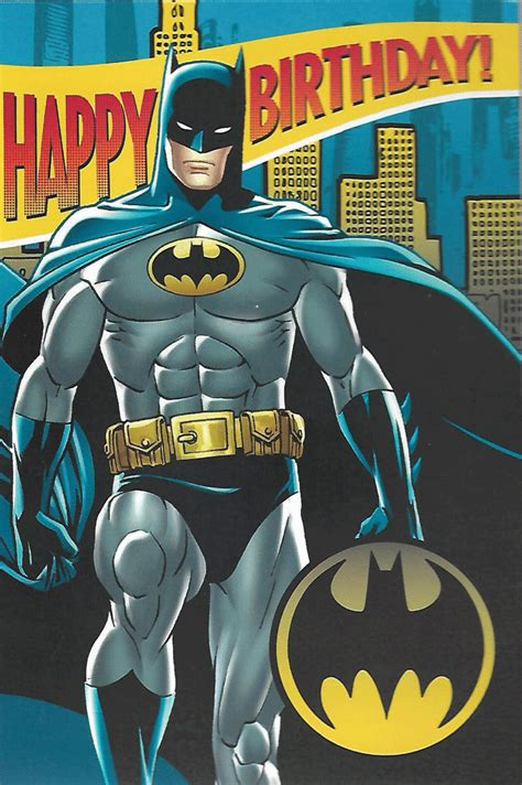 happy birthday batman design batman happy birthday greetings interactive card