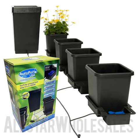 best indoor garden system autopot 4 pot system hydroponics indoor gardening self